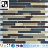 Mattonelle poco costose cinesi di nuoto di Mosaico del mosaico di vetro blu