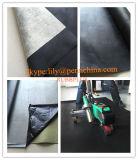 Membrana Waterproofing de borracha amigável de Eco EPDM com parte traseira da tela de China