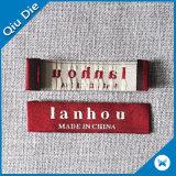 I vestiti etichetta e contrassegna il tessuto per gli accessori per il vestiario