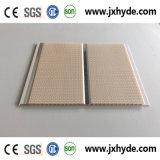 Panneau normal 7*200mm/de décoration de mur de PVC de matériau de construction d'impression cannelure moyenne