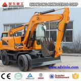 Excavador hidráulico X120-L de 12 toneladas con la ISO del Ce para la venta