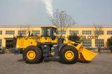 Caricatore caldo della rotella di tonnellata del cinese 1-6 di vendita con la barra di comando