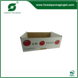 2015 Fancy New Design White Fruit Corrugated Box