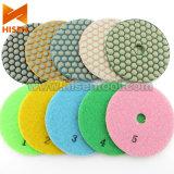 5개 단계 100mm Diamond Dry Polishing Pads (Professional)