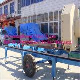 Amplamente utilizado para a máquina portátil horizontal da serra de fita da estaca de madeira