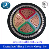 0.6/1kv 4X95mm2 Copper Conductor pvc Insulated Armored Power Cable voor Low Voltage BS 6346, CEI 60502-1