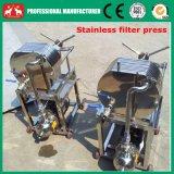 2016小さいステンレス製の版及びフレームの石油フィルター機械