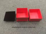 Embalaje de gama alta del rectángulo de regalo de la caja cosmética de la joyería