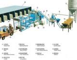 Unidade completa da fonte de linha de produção do cimento do cristal