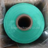 Geblasenes LLDPE 12 Monate Anti-UVgrüne Farben-Silage-Verpackungs-Film-Silage-Film-