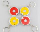 Promotion Porte-clés en plastique à anneau porte-clés