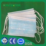 Masque chirurgical non tissé jetable avec N95 Cetificate Tie on