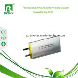Batteria di buona prestazione 3.7V 2800mAh Lipo per la lampada solare della Tabella