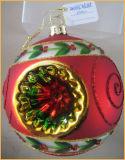 عيد ميلاد المسيح أحمر [غلسّ بلّ] مع فتحة بئر لأنّ [كريستمس تر] زخرفة