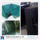 Claro/vidrio reflexivo teñido/del color para el edificio/la construcción/la decoración