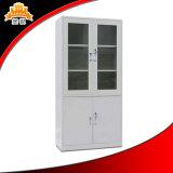 4 Tür-Büro-Möbel-Glastür-Schrank-Schrank
