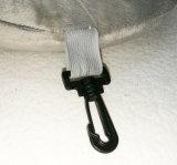 Cuscino a forma di U di vibrazione della lettura della gomma piuma LED di memoria di corsa di massaggio