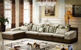 Nuevos muebles clásicos del sofá de la tela de la sala de estar (603A)