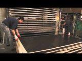 18m m prensa caliente de dos veces acabaron la madera contrachapada hecha frente película para Medio Oriente