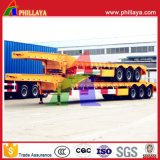 Phillaya Made 3 Eixos 60tons Heavy Duty Semi-reboque Lowbed