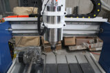 Máquina del ranurador de la carpintería del CNC del tornillo 3D de la bola para la venta 6090