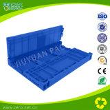 Caixa plástica da logística universal azul da cor