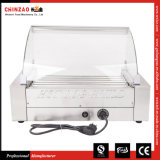 18 Hotdogs Commercial Hot Dog Roller Grill Machine