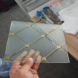 o vidro da decoração da arte de 5mm com personaliza a fábrica do OEM