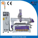 Router do CNC do ATC de Jinan Acut-1325 com as 16 ferramentas para as portas de madeira