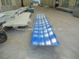 El material para techos acanalado del color de la fibra de vidrio del panel de FRP artesona W172137