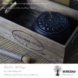 Rectángulo de almacenaje de madera de Hongdao para el hogar