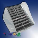 El plástico antiestático maneja las cajas de herramientas plásticas acanaladas antiestáticas de los rectángulos acanalados para el compartimiento de piezas de la electrónica