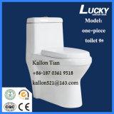 床-浴室の衛生製品の取付けられたワンピースの洗面所