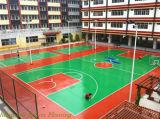 De openlucht Vloer van Sporten, Matten van de Bevloering van het Badminton de Vinyl Plastic