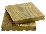 3D Embossing Co-extrusie WPC Composite Decking