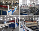 Доска толя PVC делая производственную линию машину