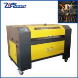 O laser do CO2 gravam e a máquina de estaca, CCD