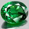 Gemstone cúbico do Zirconia da cor verde para a jóia
