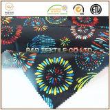 Hawaiisches Polyester der Art-230t gesponnen, Satin-Blumen-Druck-Gewebe zeichnend