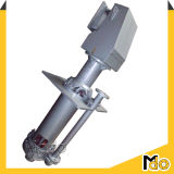 4 '' Afzet 40mm de Centrifugaal Verticale Pomp van de Dunne modder