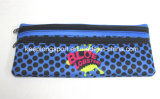 Sac de crayon du néoprène de multicolores pour des élèves, sacs de crayon du néoprène