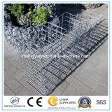 石造りの擁壁のためのワイヤーバスケットは販売のためのGabionの溶接されたバスケットに電流を通した