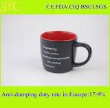 Kundenspezifischer Druck-keramischer Restaurant-Becher für Tee oder Kaffee
