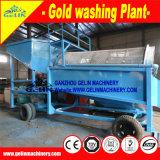 Pantalla de Trommel de Good Efficiency Mineral Processing para el oro aluvial