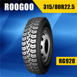Fábrica 315/80r22.5 do pneumático do caminhão de China