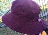 Tampão bordado 2016 formas do pescador do chapéu da cubeta