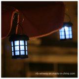 PP 태양 강화된 야드 안뜰 옥외 거는 램프