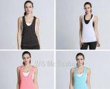 Пригодность Sportwear верхних частей бака износа йоги женщины Sleeveles спортов напольная быстро сухая