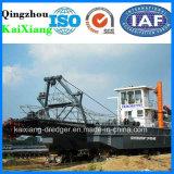 川の砂のポンプ浚渫船機械中国製