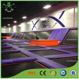MultifunktionsProfessional Gymnastic Outdoor Trampolines für Sale mit Basketball Hoop